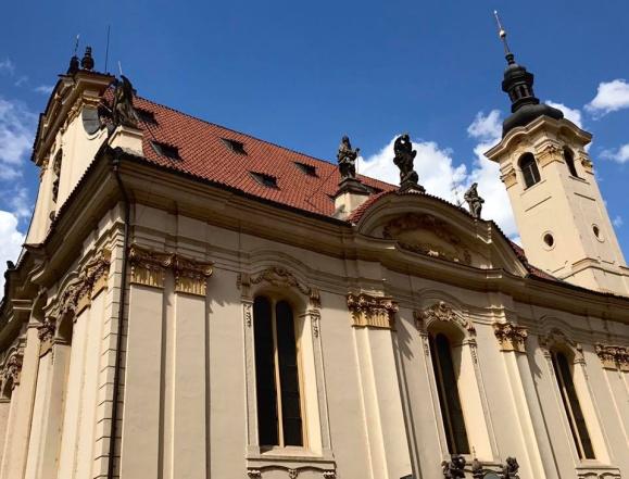 Kostel Sv. Šimona a Judy, Dušní ulice, Praha
