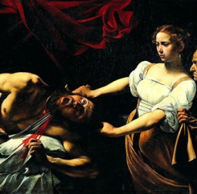 Judita a Holofernes, Řím
