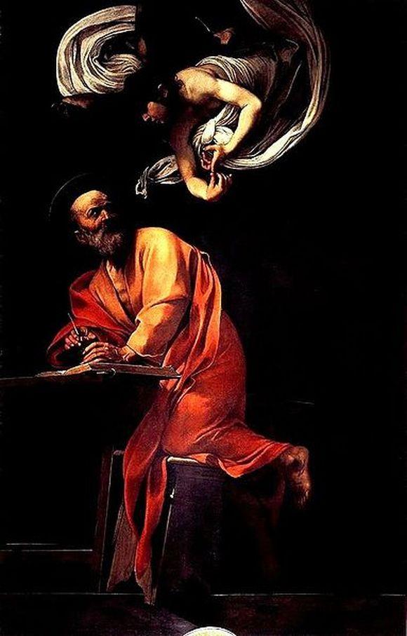 Caravaggio_-_San_Matteo_e_l'angelo