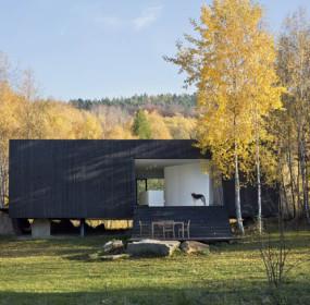 Dům v Posázaví, foto Tomáš Rasl
