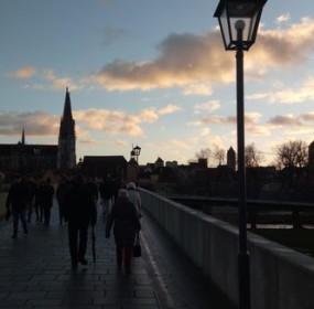 Historický most do centra/Historical bridge to the city