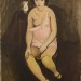 Kars - Dívka se žlutými punčochami, 1923