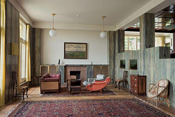 Villa Müller interiér/interior