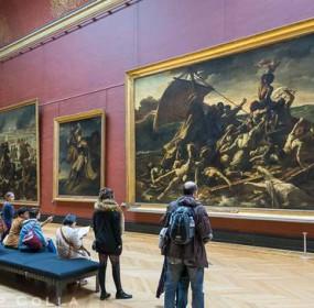 The Raft of the Medusa, Le Radeau de la Meduse, Musee du Louvre, Paris